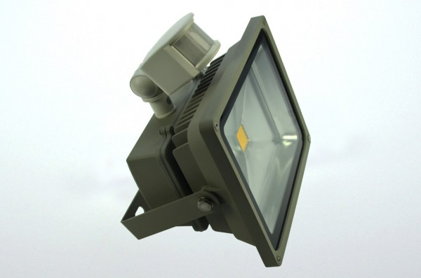 LED-Flutlichtstrahler Hochvolt LED30F22LoKWB kaltweiss (6000°K) . Einsetzbar im Spannungsbereich: 100-240V AC