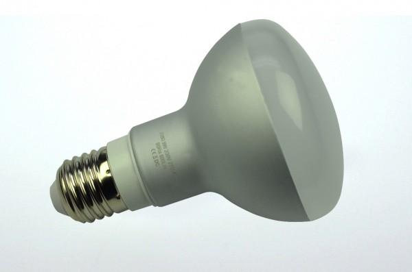 E27 LED-Reflektorlampe LED30R8027LmKW Hochvolt DC-kompatibel (gleichstrom-fähig) kaltweiss (5800°K) . Einsetzbar im Spannungsbereich: 110-240V AC