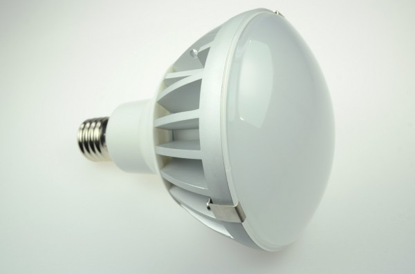 E40 LED-Spot PAR52 LED60N40LmKW Hochvolt kaltweiss (5500°K) IP65, Nichia LED, 4KV Schutz. Einsetzbar im Spannungsbereich: 100-275V AC