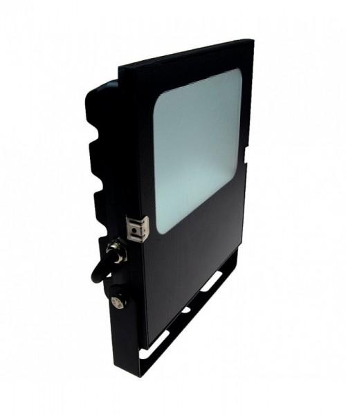 LED-Flutlichtstrahler DC 5500 Lumen 120° kaltweiss 50W flache Bauweise Green-Power-LED