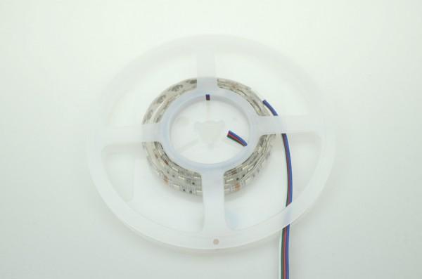 LED-Lichtband Niedervolt DC-kompatibel (gleichstrom-fähig) LED60B100w50rgb RGB (RGB°K) Meterware. Einsetzbar im Spannungsbereich: 12V DC