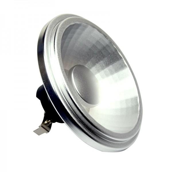 G53 LED-Spot AR111 LED24A53S Niedervolt DC-kompatibel (gleichstrom-fähig) warmweiss (2700°K) dimmbar, indirekte Beleuchtung. Einsetzbar im Spannungsbereich: 12V AC