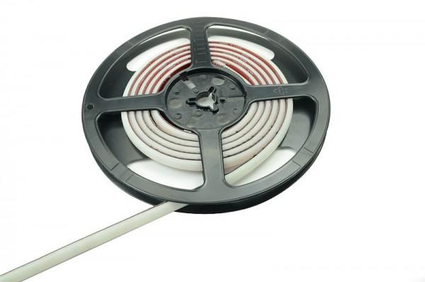 LED-Lichtband Niedervolt DC-kompatibel (gleichstrom-fähig) LED120B100w30WWNWOP warm/neutralweiss (2400-4000°K) Opale Beschichtung. Einsetzbar im Spannungsbereich: 12-15V DC