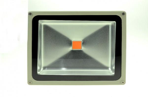 LED-Pflanzenleuchte Hochvolt LED30F22LoRBFS rot/blau 450/590-750 Nm Pflanzenzucht/Wachstum. Einsetzbar im Spannungsbereich: 100-240V AC