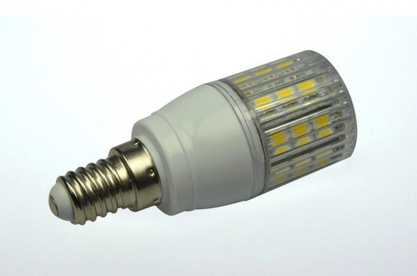E14 LED-Tubular LED24TU14LKW Hochvolt kaltweiss (6300°K) gekapselt. Einsetzbar im Spannungsbereich: 220-265V AC