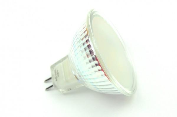 GU5.3 LED-Spot PAR16 LED10S53L Niedervolt DC-kompatibel (gleichstrom-fähig) warmweiss (3000°K) dimmbar. Einsetzbar im Spannungsbereich: 10-18V AC