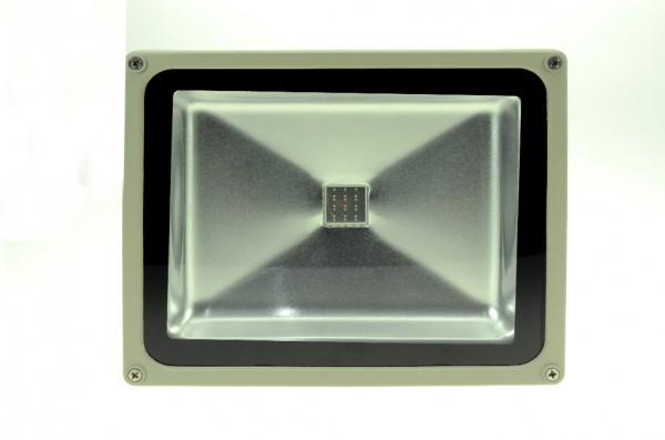 LED-Pflanzenleuchte Hochvolt LED30FS22LoRB rot/blau 450/660 Nm Frucht- und Blütenwachstum. Einsetzbar im Spannungsbereich: 100-240V AC