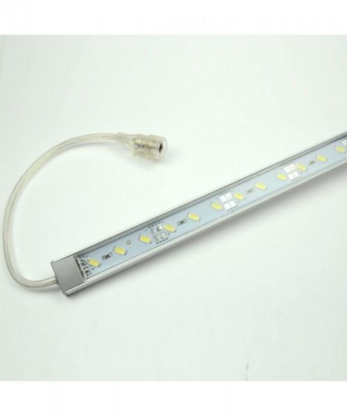 LED-Aquariumleuchte Niedervolt DC-kompatibel (gleichstrom-fähig) LED66LLAQUA kaltweiss gg. Algenwachstum. Einsetzbar im Spannungsbereich: 12V DC
