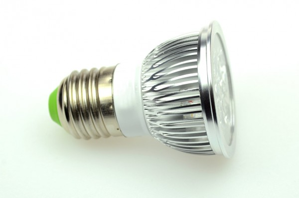 E27 LED-Spot PAR16 AC/DC 360 Lumen 30° warmweiss 3,6 W dimmbar Green-Power-LED