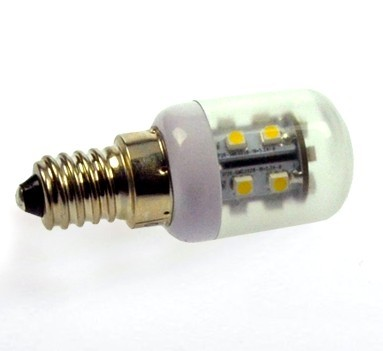 E14 LED-Tubular LED18Tu14LKW Hochvolt kaltweiss (5500°K) . Einsetzbar im Spannungsbereich: 100-240V AC