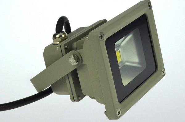 LED-Flutlichtstrahler Hochvolt LED9F22Lgro grün . Einsetzbar im Spannungsbereich: 100-240V AC