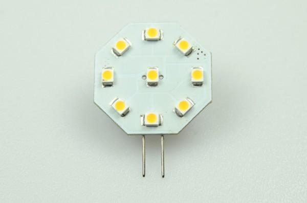 G4 LED-Modul LED9MG4L Niedervolt DC-kompatibel (gleichstrom-fähig) warmweiss (2900°K) dimmbar. Einsetzbar im Spannungsbereich: 10-18V AC