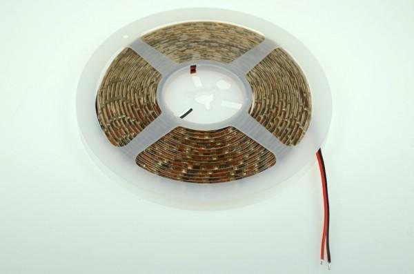 LED-Lichtband Niedervolt DC-kompatibel (gleichstrom-fähig) LED60B500br35o warmweiss (3200°K) dimmbar/ Silikon. Einsetzbar im Spannungsbereich: 12V DC