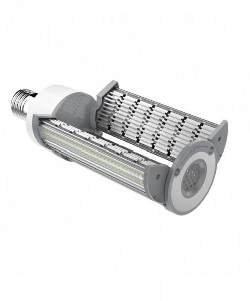 E40 LED-Tubular LED240TU40LoNW Hochvolt neutralweiss (4000°K) IP43, Ausklappbar. Einsetzbar im Spannungsbereich: 100-277V AC