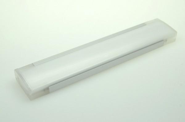 LED-Lichtleiste Niedervolt DC-kompatibel (gleichstrom-fähig) LED18LL-SV warmweiss (3000°K) Sideview. Einsetzbar im Spannungsbereich: 12-16V DC