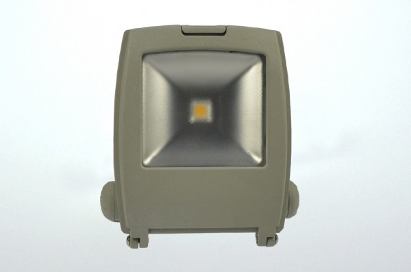 Design LED-Flutlichtstrahler AC 600 Lumen 120°-150° warmweiss 11W Strukturiertes Glas Green-Power-LE
