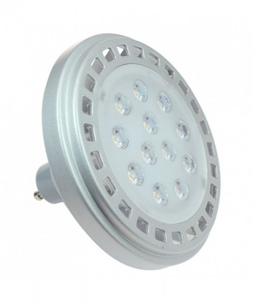 GU10 LED-Spot AR111 LED9x1A10SD Hochvolt warmweiss (3000°K) dimmbar. Einsetzbar im Spannungsbereich: 220-240V AC