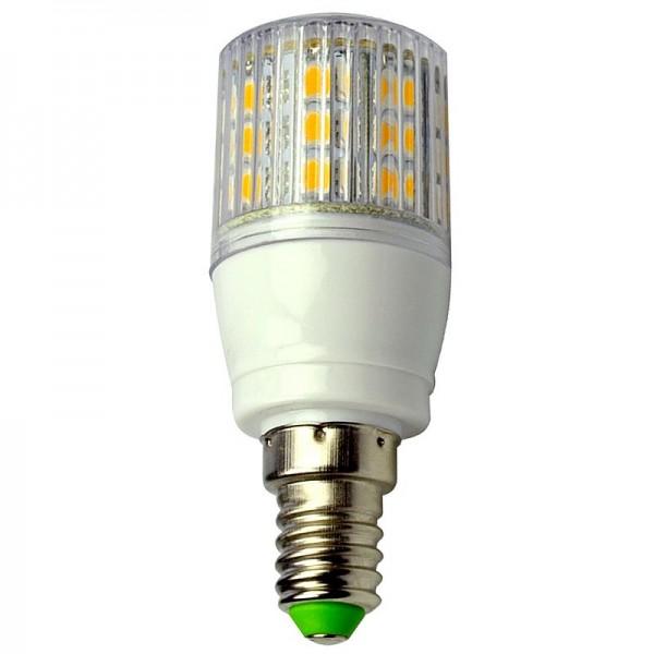 E14 LED-Tubular AC/DC 330 Lumen 330° warmweiss 4W gekapselt Green-Power-LED