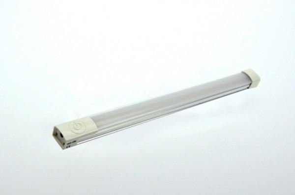 LED-Lichtleiste Niedervolt DC-kompatibel (gleichstrom-fähig) LED45LLKW kaltweiss (6000°K) Touchschalter. Einsetzbar im Spannungsbereich: 12-14V DC