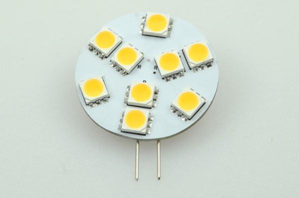 G4 LED-Modul LED9MG4LD Niedervolt DC-kompatibel (gleichstrom-fähig) warmweiss Schaltbar, CRI>90. Einsetzbar im Spannungsbereich: