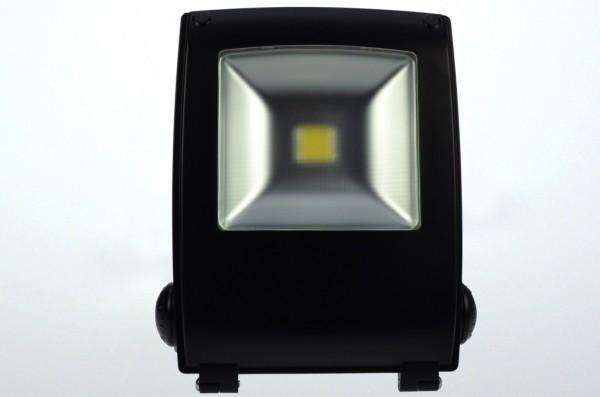 LED-Flutlichtstrahler AC 2550 Lumen 120°-150° warmweiss 30W Strukturiertes Glas Green-Power-LED