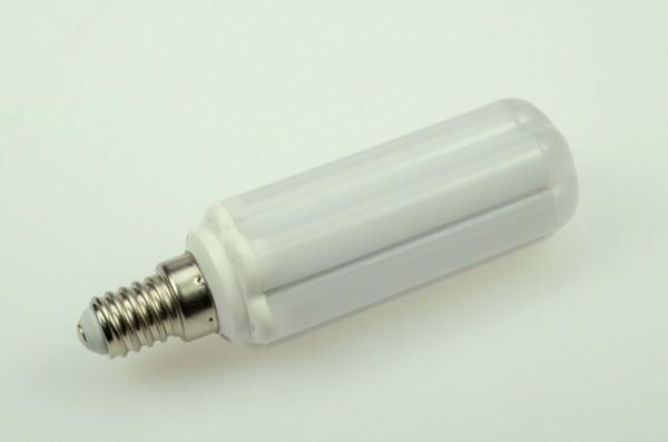 E14 LED-Tubular LED42Tu14LmNW Hochvolt DC-kompatibel (gleichstrom-fähig) neutralweiss (4000°K) . Einsetzbar im Spannungsbereich: 85-265V AC