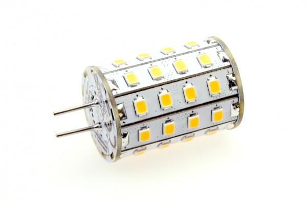 GY6.35 LED-Stiftsockellampe LED48STG6L Niedervolt DC-kompatibel (gleichstrom-fähig) warmweiss (2700°K) dimmbar. Einsetzbar im Spannungsbereich: 10-18V AC