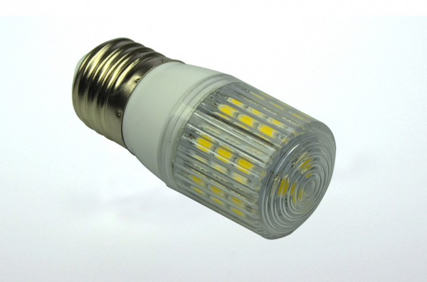 E27 LED-Tubular LED24TU27L Hochvolt warmweiss (2700°K) gekapselt. Einsetzbar im Spannungsbereich: 220-265V AC