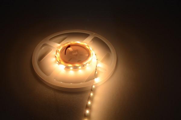 LED-Lichtband Niedervolt DC-kompatibel (gleichstrom-fähig) LED60B100w35bl Blau dimmbar. Einsetzbar im Spannungsbereich: 12V DC