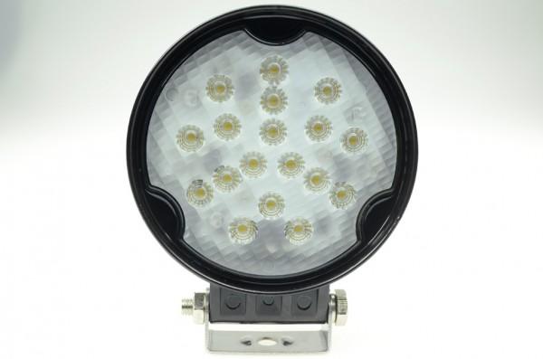 LED-Suchscheinwerfer DC 1950 Lumen 36° kaltweiss 18W IP67 Green-Power-LED
