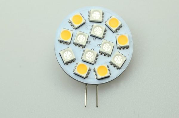 G4 LED-Modul LED13MG4LRBW Niedervolt DC-kompatibel (gleichstrom-fähig) blau/rot/warmweiss (3000 / 630/465Nm°K) . Einsetzbar im Spannungsbereich: