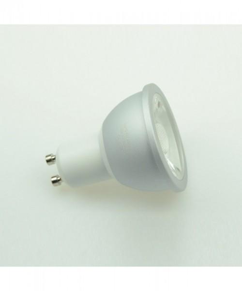 GU10 LED-Spot PAR16 LED1x6S10LDNW Hochvolt DC-kompatibel (gleichstrom-fähig) neutralweiss (4000°K) Dimmbar, CRI>90. Einsetzbar im Spannungsbereich: 220-240V AC