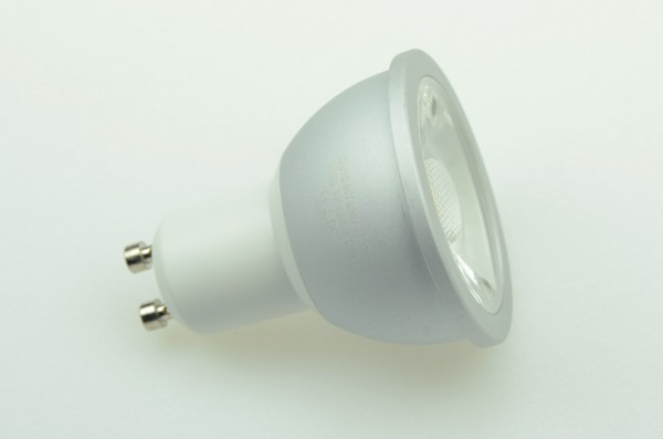 GU10 LED-Spot PAR16 LED1x6S10LD Hochvolt DC-kompatibel (gleichstrom-fähig) warmweiss (2700°K) dimmbar, CRI>90. Einsetzbar im Spannungsbereich: 230V AC