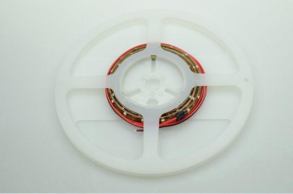 LED-Lichtband Niedervolt DC-kompatibel (gleichstrom-fähig) LED60B200br35o warmweiss dimmbar. Einsetzbar im Spannungsbereich: 12-14,8V DC